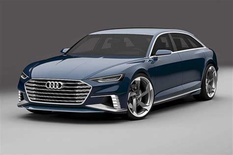 Audi Teases Prologue Station Wagon Concept  News Car
