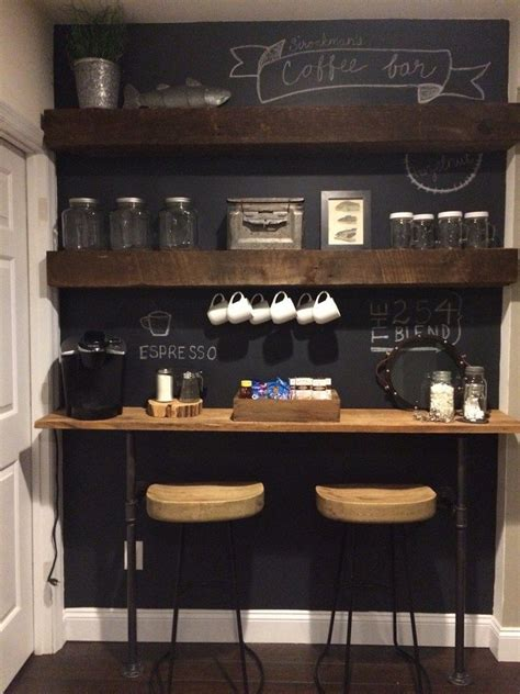 Super sweet coffee bars are possible in most any areas. Pin by Carolyn Malin on The Coffee Bar | Coffee bar home, Coffee bar design, Coffee bars in kitchen