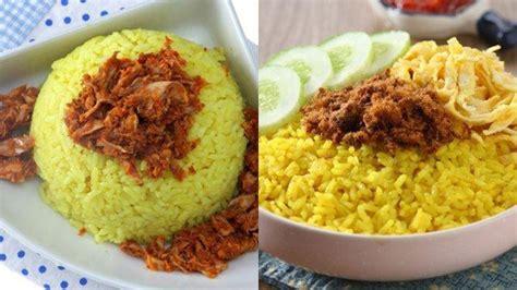 Namun saat ini sudah tidak lagi, salah satunya adalah penggunaan rice cooker untuk membuat nasi kuning. 5 RESEP Nasi Kuning dengan Berbagai Topping, Menu Spesial untuk Keluarga di Rumah, Masak Sendiri ...