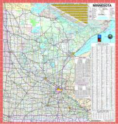 mn road map official minnesota state highway map