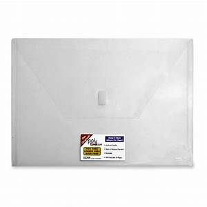buy itoya pe 20 poly envelope letter size clear With clear plastic envelopes letter size
