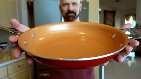red copper pan review    day test youtube