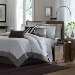 sasha 7 piece jacquard comforter set in gray modern comforters and comforter sets by wayfair