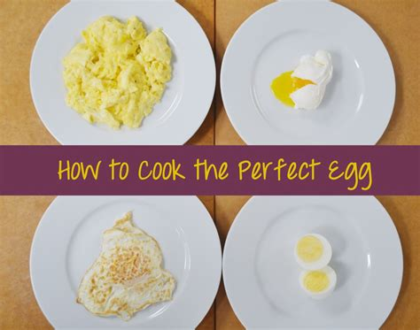 how to make eggs how to cook the perfect egg