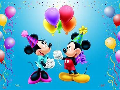 Mickey Mouse Birthday Minnie Happy Disney Desktop