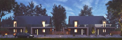 vray night scene rendering modern house ar  model max