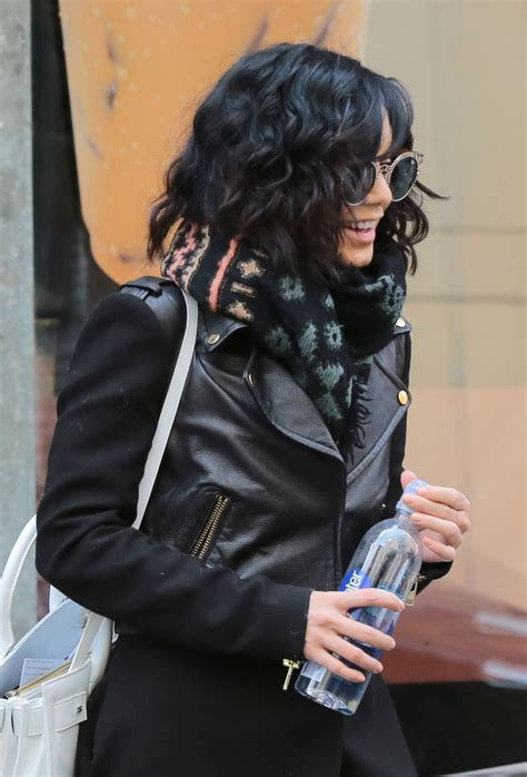 Vanessa Hudgens - Out in New York City, March 2015 ...