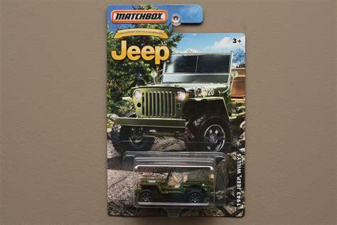 matchbox jeep 2016 matchbox 2016 jeep anniversary edition 39 43 jeep willys