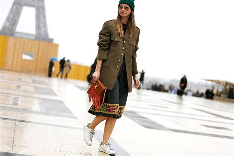 Army-style Jackets And Streetstyle