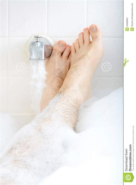Feat In The Bathtub by Soaking In The Bathtub Stock Image Image 34266961