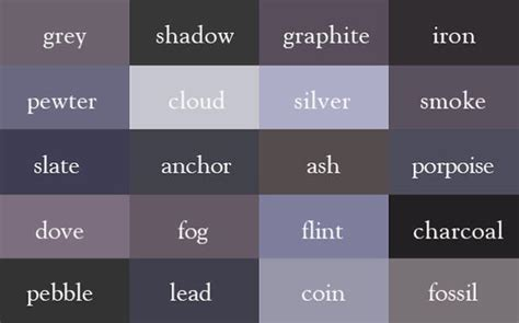 Pictures Of Different Shades Of by The Ultimate Color Chart You Will Never Use Because You