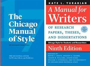 Chicago Vs  Turabian  3 Key Questions