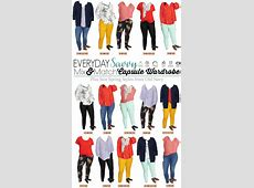 Old Navy Plus Size Capsule Wardrobe Spring Plus Size Outfits
