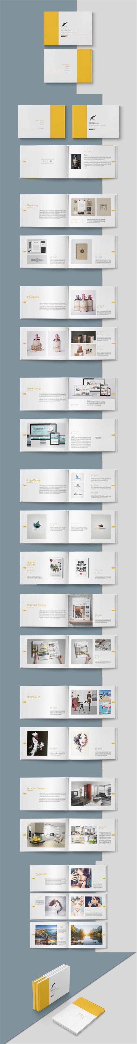 Portfolio Brochure Template 25 Best Ideas About Brochure Cover On