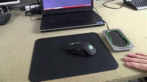 test de la souris steelseries sensei wireless tapis de
