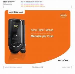 Accu U2011chek U00ae Mobile Manuale Per L Uso