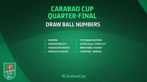 Carabao Cup Semi-Final Draw : Carabao Cup Quarter-Final ...