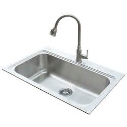 undermount kitchen sink with faucet holes shop standard 22 in x 33 in silver single basin stainless steel drop in or undermount 1