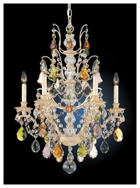 schonbek bordeaux 22 quot wide colored chandelier