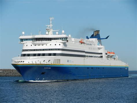 Ferry Boat Joshua Slocum by Getting To Newfoundland Crossing The Cabot Strait