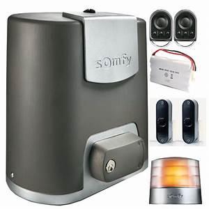 Motorisation De Portail Somfy : elixo 500 3s io pack confort somfy france ref 1 216 365 ~ Dailycaller-alerts.com Idées de Décoration