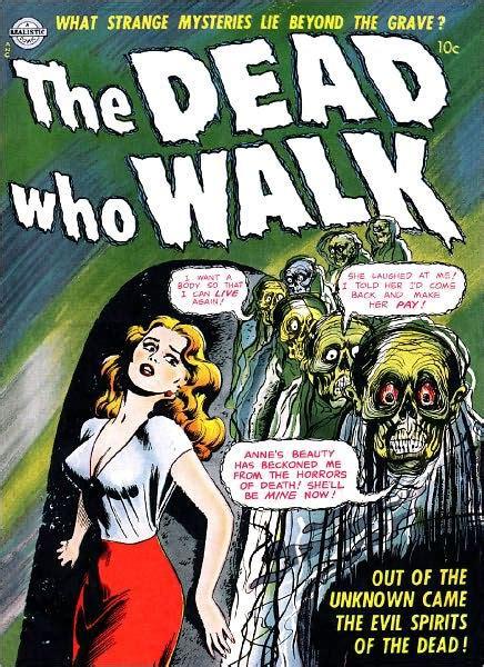 dead  walk horror comic book  lou diamond nook book