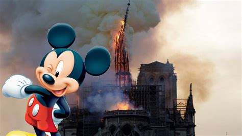 Disney burns down Notre Dame to make way for improved CGI ...