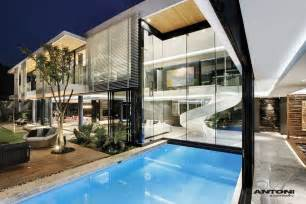 Fresh Modern House Features by Modern Mansion With Interiors By Saota