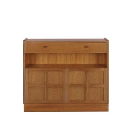 Low Bookcase With Doors by Nathan Classic Low Bookcase With Doors Hi Sell Direct