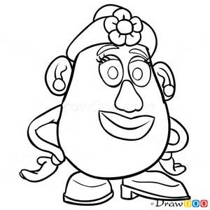 Toy Story Mr Potato Head Drawing