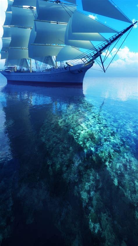 segelschiff handy logo kostenlos hintergrundbild auf dein handy