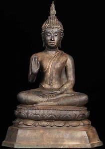 """SOLD Abhaya Thai Buddha Statue 15"""" (#55t24c): Hindu Gods ..."""