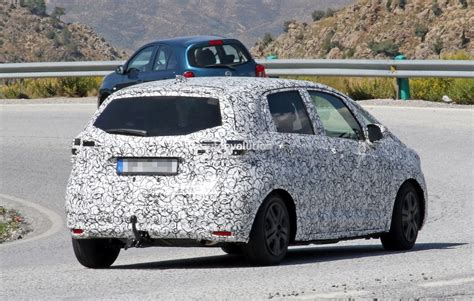 Honda Jazz Hybrid 2020 by 2020 Honda Jazz Fit Spied With Production Bodywork