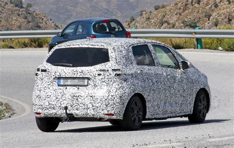 Honda Jazz 2020 by 2020 Honda Jazz Fit Spied With Production Bodywork