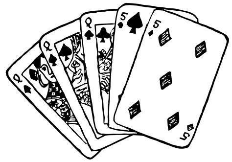 playing card drawing  getdrawings