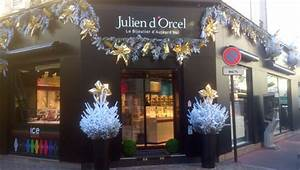 deco vitrine noel boulangerie With decoration de noel pour professionnel