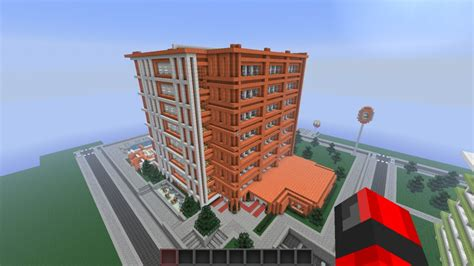 modern hotel embassy suites minecraft project