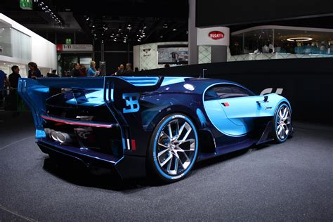 bugatti concept car hear the bugatti vision gt concept s engine start up and