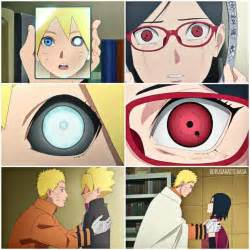 Boruto Sarada Seeing Their Eyes For The First Time