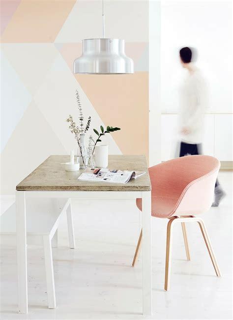 Pastellfarben Wand by Wandmuster Ideen Geometrische Formen Streichen