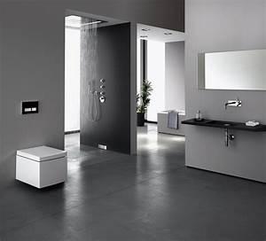 Badezimmer Grau Weiß : modernes badezimmer ~ Markanthonyermac.com Haus und Dekorationen