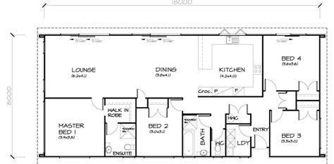 simple 4 bedroom house plans brilliant simple 3 bedroom house plans home decorating ideas