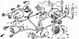 Honda Motorcycle 2002 Oem Parts Diagram For Wire Harness