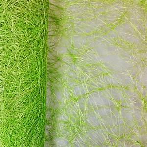 Chemin De Table Vert : chemin de table en abaca vert anis ~ Teatrodelosmanantiales.com Idées de Décoration