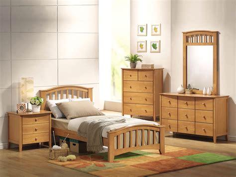 maple finish bed frame