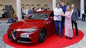 Alfa Giulia Prix : le design de l 39 alfa romeo giulia r compens ~ Gottalentnigeria.com Avis de Voitures