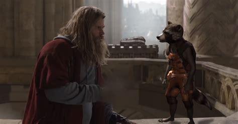 Thor Rocket Raccoon Featured Avengers Endgame