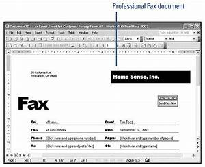 creating a fax cover sheet show me microsoft office With how can i fax a document from my laptop
