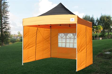 pop up canopy tent 10 x 10 orange pop up tent canopy