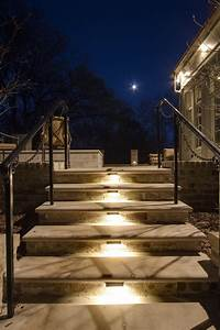 louisville outdoor steps stairs and hills landscape With outdoor lighting for stone steps